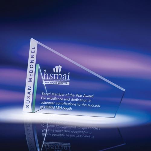 Advantage Clear Optical Crystal Award