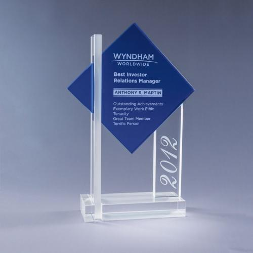 Blue Ultra Optical Crystal Tower