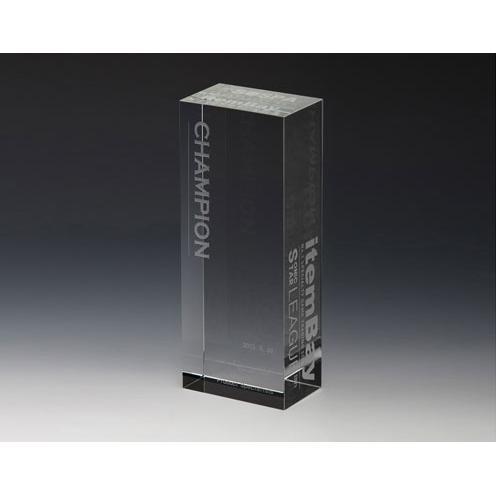 The Blank Clear Optical Crystal Tower Award