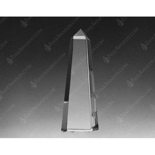 Clear Crystal Master Obelisk Award
