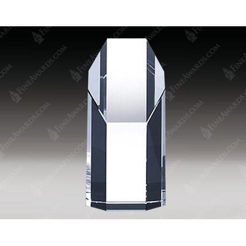 Empire Clear Crystal Octagon Award