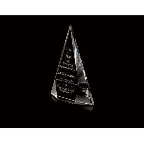 Keystone Optical Crystal Pyramid Award