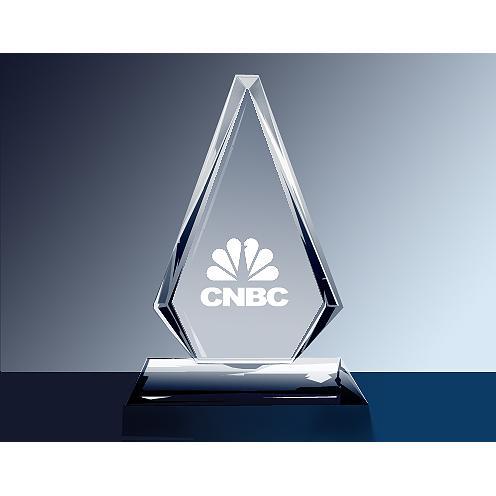 Windsor Clear Glass Diamond Award