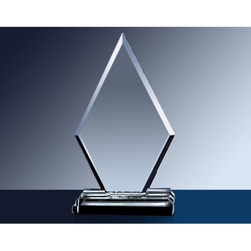 Grand Diamond Clear Glass Award