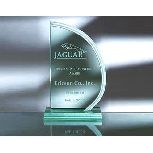 Green Jade Glass Sail Award