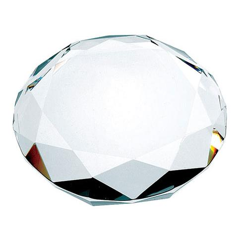 Crystal Octagon Paperweight
