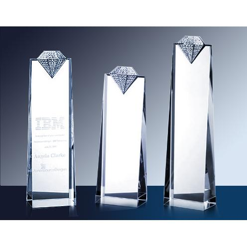 Crystal Luxury Diamond Tower Award