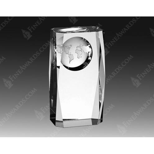 Crystal Globe Column Award