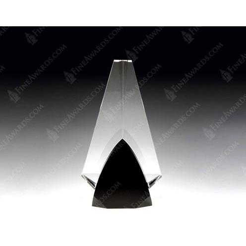 Black & Clear Solid Partners Prism Award