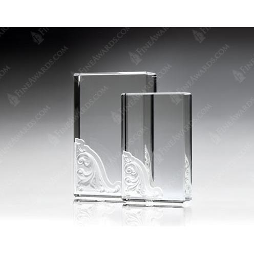 Corinthian Clear Crystal Blocks