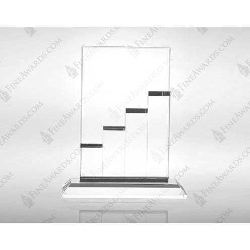 Clear Optical Crystal Zenith Award